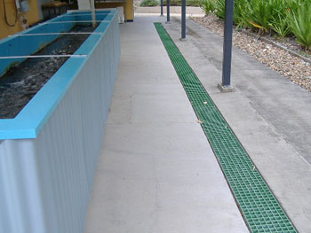 Aquaculture FRP Drain Grating
