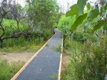 FRP grating 38mm thick in National Park